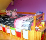 Super wohnliches & praktisches Bett