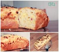 Super saftiges und ober leckeres Käse-Schinken-Brot