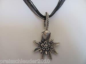 Trachtenschmuck Trachtenkette Edelweiss Dirndl Wies´n Halskette Kette NEU&OVP