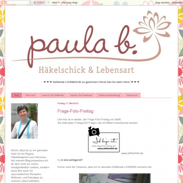 paula b. - Häkelschick & Lebensart