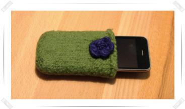 Auch das Iphone braucht ein Täschchen