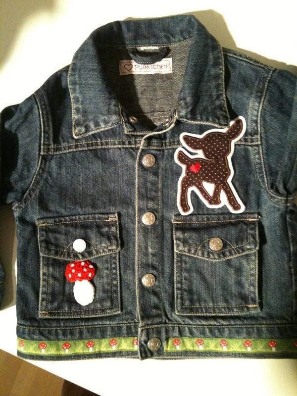 Jeansjacke für kleine Waldfeen