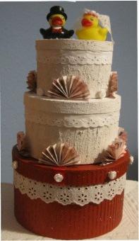 Geld In Der Hochzeitstorte Handmade Kultur