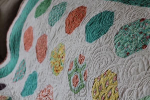 Tutorial für meinen Snowball Quilt