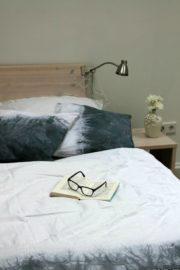 Batik Kissen und Tagesdecke