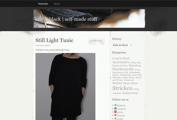 knit it black | self-made stuff