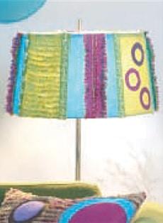 Chenille Lampenschirm