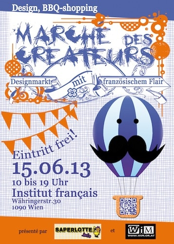 Marché des créateurs : Designmarkt mit französischem Flair