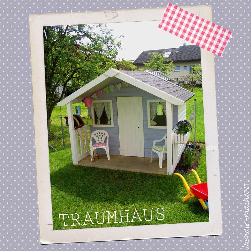 diy gartentraumhaus f r kleine prinzessinnen handmade kultur. Black Bedroom Furniture Sets. Home Design Ideas