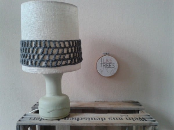 Alte Lampe zum Lieblingsstück machen
