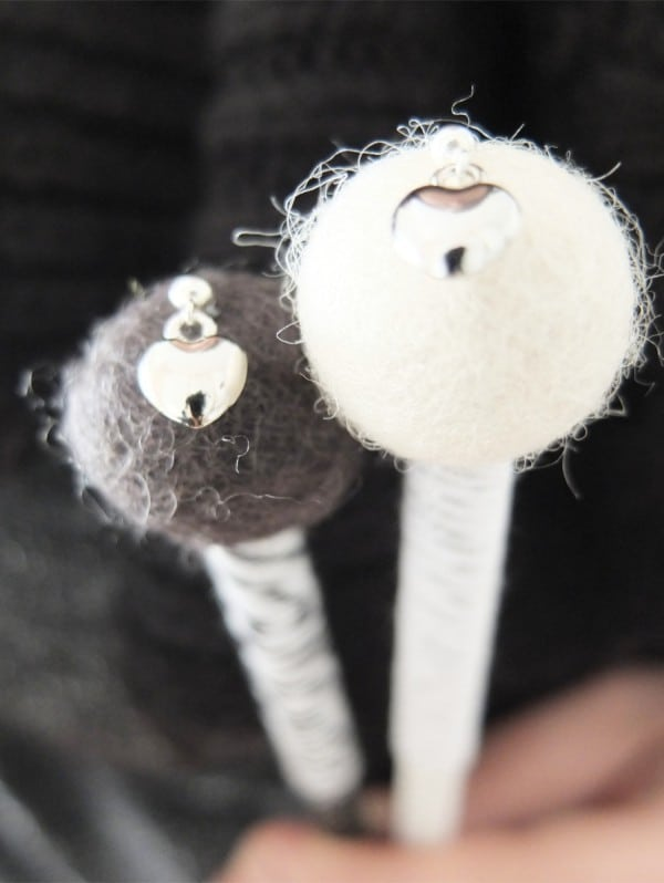 DIY - Black and White Bleistifte