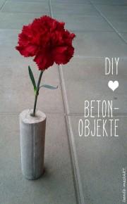 Beton-Liebe - {Meine ersten DIY-Objekte}