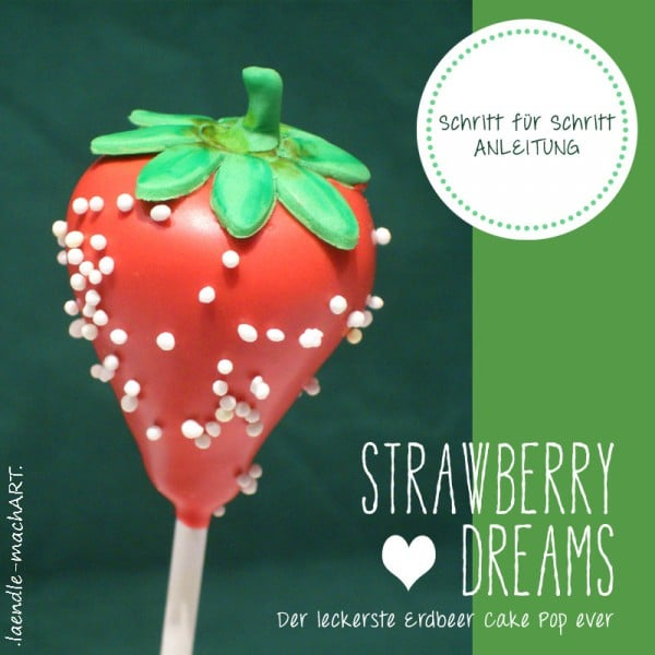 Strawberry Dreams - Beerige Cake Pops