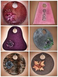 Außergewöhnliche Handtaschen aus Teppichfliesen
