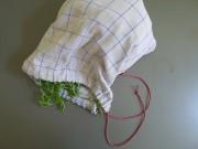 Küchenhandtuch goes Salatbeutel