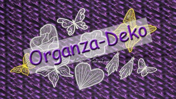 Organza Deko mit normaler Nähmaschine