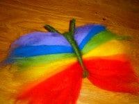 Regenbogen Schmetterling