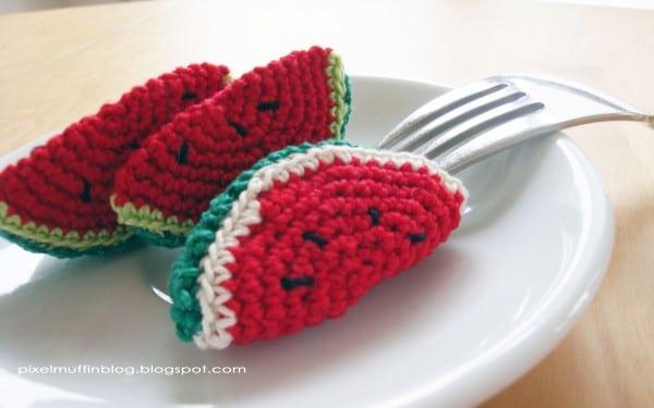 Amigurumi Wassermelönchen