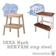 IKEA Hack: BEKVÄM Tritthocker