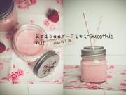 Erdbeer-Kiwi-Smoothie mit Honig