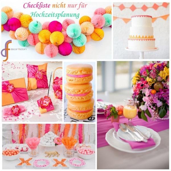 Hilfreiche Checkliste Zur Hochzeitsvorbereitung Handmade Kultur
