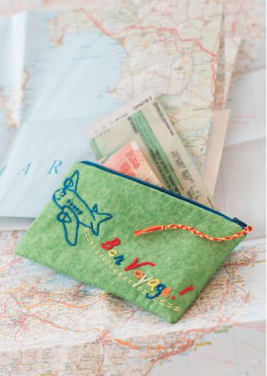 Hülle für Reisedokumente