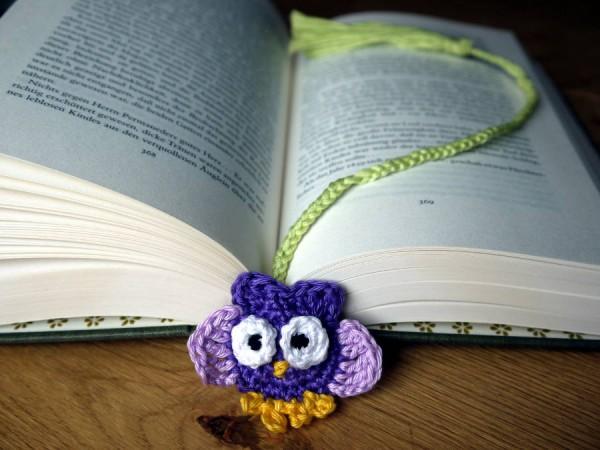 Nur Für Leseratten Eulenlesezeichen Handmade Kultur