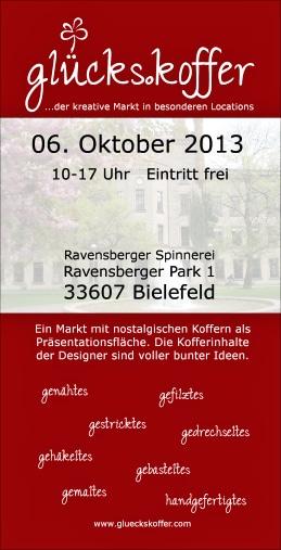 2. Koffermarkt (...der kreative Markt) Bielefeld