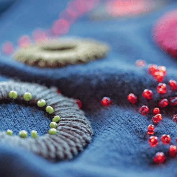 Häkelringe Schöne Schmuckstücke Mit Nadel Und Faden Handmade Kultur