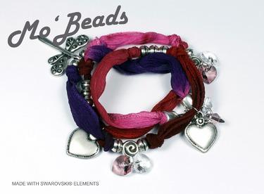 "Armband ""Silky Silver"""