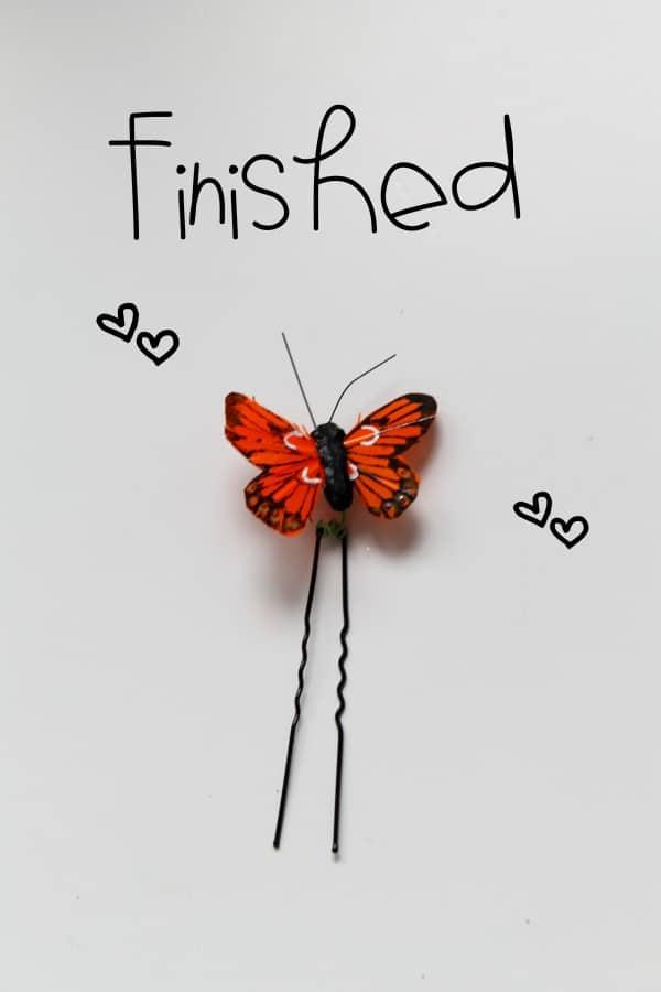 Butterfly Haarklammer