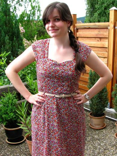 Meikes erstes Cambie Dress