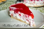Frischkäse-Erdbeer-Sommertorte
