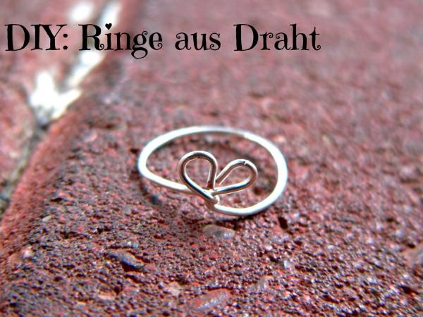 DIY: Ringe aus Draht - HANDMADE Kultur