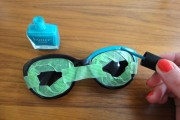 DIY : Zweifarbige Sonnenbrille