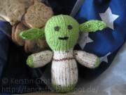 Stricken du musst! Yoda-Amigurumi