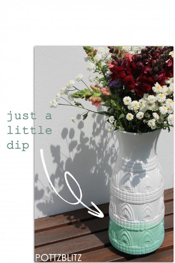 kleines Vasen-Makeover
