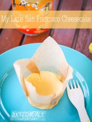 My Little San Francisco Cheesecake