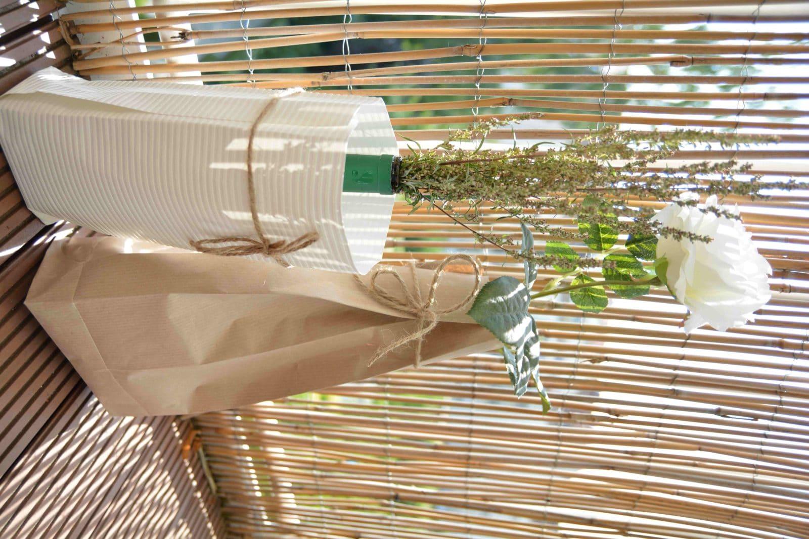 Urlaubs-Fundstück plus DIY-Tutorial: Blumen- und Kräutertaschen