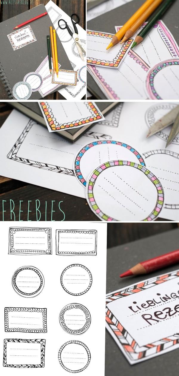 freebies etiketten zum ausdrucken handmade kultur. Black Bedroom Furniture Sets. Home Design Ideas