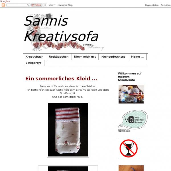 Sannis Kreativsofa