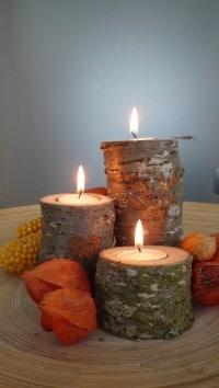DIY: Einen Kerzenständer aus Altholz bauen