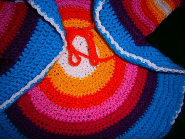 Regenbogen Kreisweste Gehäkelt Tutorial 8692 Handmade Kultur
