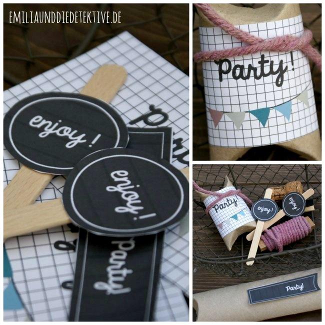 DIY - Party Label Set