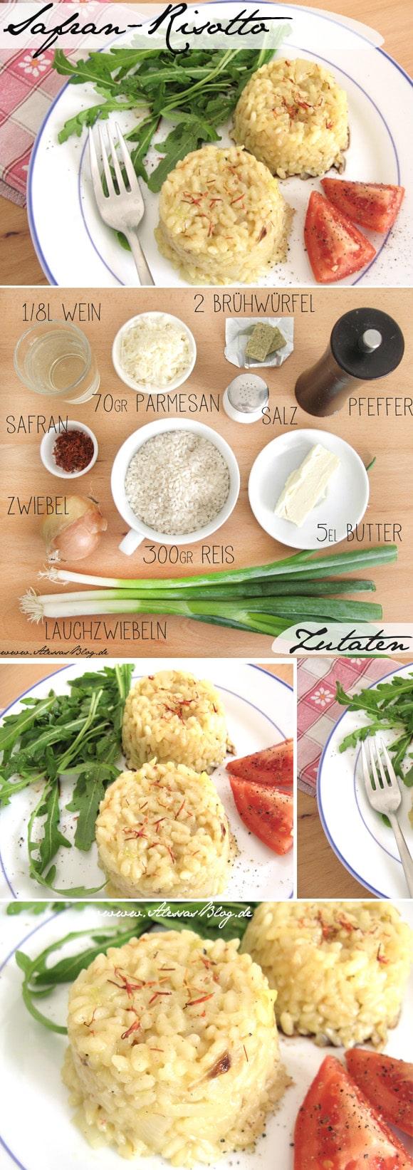 Rezept: Safran-Risotto