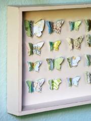 Fernweh-Schmetterlingskasten