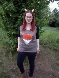 Easy-Peasy-Shirt ... mal ganz schön ausgefuchst!