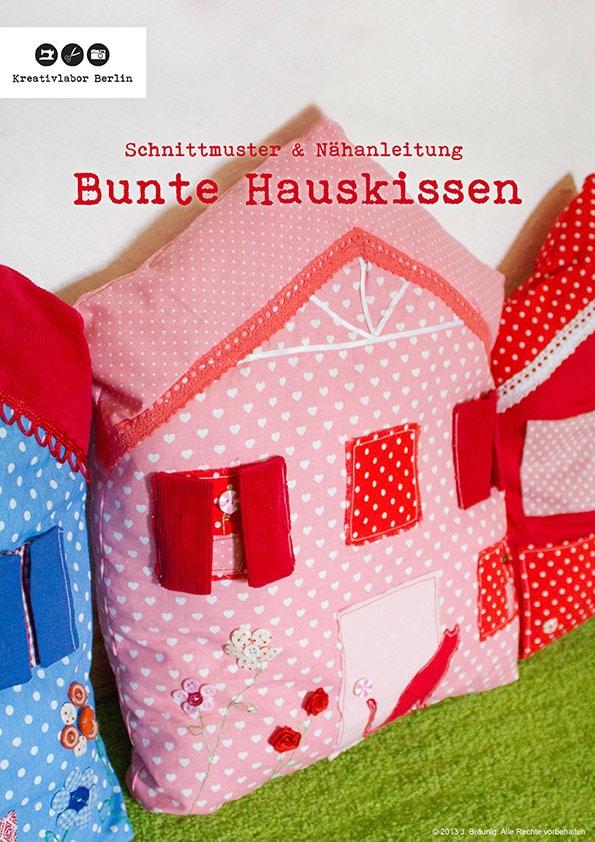 Häuserkissen in 2 Varianten