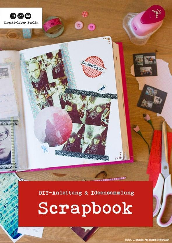 Wie man ein scrapbook bastelt anleitung ideen handmade kultur - Scrapbook ideen ...
