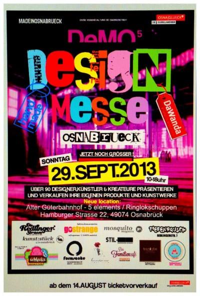 Gewinnspiel: Gewinne Eintrittskarten für die Design-Messe in Osnabrück